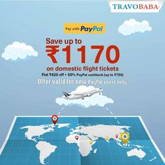 Travel more, save more by making flight booking payments via PayPal. . . . . . #TravoBaba #PayPaloffer #flightoffer Domestic Flights, Media Campaign, Tours, Social Media, Travel, Design, Viajes, Social Networks, Trips