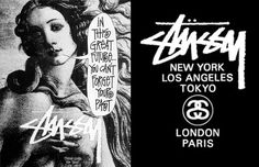 1. Stussy - 50 Best Streetwear Brands of All Time | Complex