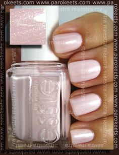 "Essie Color...""east hampton cottage."" Love super-light pink but can never find one!"