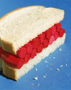 Lipstick sandwich by James Wojcik / beauty product photography