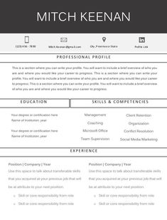 11 Resume Formats You Can Choose From Professional Profile, Resume Format, Resume Design, Resume Templates, Like You, Writing, Words, Easy, Cv Template
