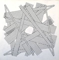 // Kenneth Martin, 'Chance, Order, Change 6 (Black)' 1978-9