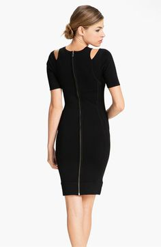 French Connection 'Dani' Cutout Crepe Sheath Dress | #Nordstrom #falltrends