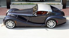 probably the best angle on this, it avoids the unfortunate headlamps.Morgan probably the best angle on this, it avoids the unfortunate headlamps. British Sports Cars, Cool Sports Cars, Vintage Cars, Antique Cars, Retro Cars, Jaguar, Convertible, Morgan Cars, Futuristic Cars