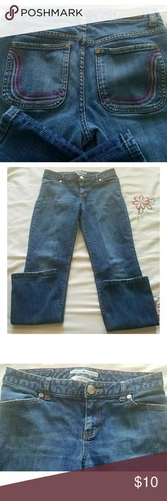 Tommy Hilfiger Low Rise Jeans Jeans in excellent condition.  Inseam 28.5. Waist 30 Tommy Hilfiger Jeans Straight Leg
