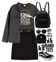 """""""#126"""" by lenabitkina ❤ liked on Polyvore featuring MadeWorn, Christian Dior, STELLA McCARTNEY, New Look, Witchery, Vans, NARS Cosmetics, Aamaya by Priyanka, H&M and bandtees"""
