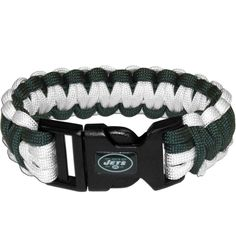 New York Jets NFL Football Team Paracord Survival Bracelet