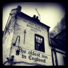 The Trip #nottingham #blackandwhite  (at Ye Olde Trip to Jerusalem)