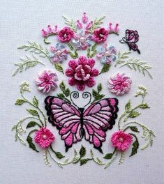 I ❤ embroidery . . . Brazilian Embroidery ~By Rosalie Wakefield 2009 ~From New York Linens