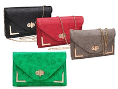 Kennedy Convertible Clutch by Urban Expressions on my #opensky store http://osky.co/KjKOEi