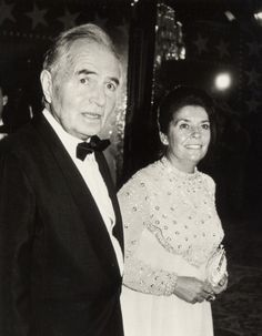 actor james mason and 2nd wife clarissa kaye attend 11th annual american ...
