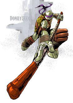 Tmnt Donatello by deemonproductions.deviantart.com on @DeviantArt