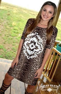 A personal favorite from my Etsy shop https://www.etsy.com/listing/244957672/crazy-cute-short-sleeve-leopard-cream