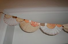 coffee filter bunting