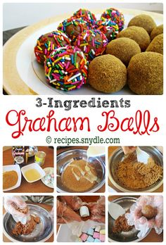 Graham Balls are so sweet and soft dessert you can munch all day and all night long. This heavenly soft yummy nom noms is just a dessert you can't refuse to eat. Its texture, its taste, its color, ...