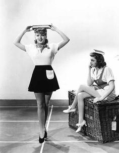 Lana Turner & Judy Garland