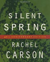 """Silent Spring""  combines passion and science, conveyed by the courageous Rachel Carson, making her masterpiece the greatest environmental book ever. When the book was serialized and published in 1962, ""Silent Spring"" caused an uproar that helped spawn the modern American environmental movement. She doggedly followed studies & lawsuits documenting the human & wildlife toll from DDT, chlordane, dieldrin & other now-banned substances."