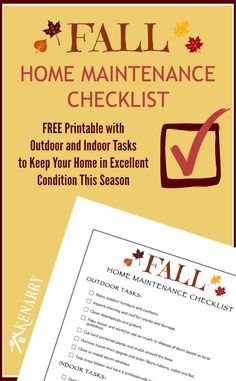 RazrGroup | A realtor group of Lucero Real Estate | Denver, Colorado | Visit us at razrgroup.com | Keep your home in tip top shape this fall with a free Fall Home Maintenance Checklist!