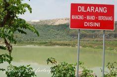 danau bekas tambang batu kapur