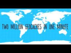 2 Million Geocaches in 1 Minute  The world just hit 2 million geocaches!