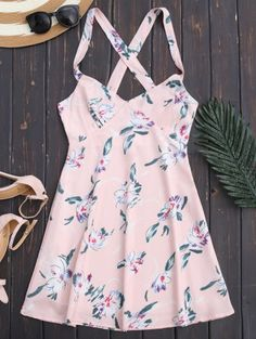 SHARE & Get it FREE | Floral Backless Summer Dress - Light PinkFor Fashion Lovers only:80,000+ Items • New Arrivals Daily Join Zaful: Get YOUR $50 NOW!
