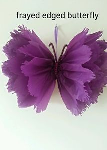 Bebé boda pompones de papel de seda decoraciones mariposa ducha cumpleaños del partido | eBay: