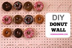 When my friend Abbie Schiller asked me if I'd help her make a DIY donut wall for her daughter's…