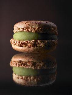 Pierre Hermé Paris @Pierre_HermeLDN  Fetish House flavour, Mosaïc marries two very different products: pistachio and morello cherry.