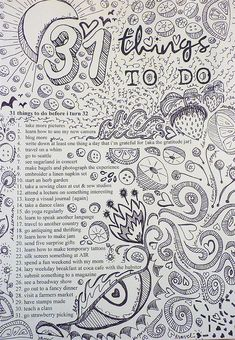 To do doodles
