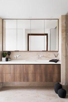 49 Trendy Bathroom Cabinets Ideas Diy How To Build Bathroom Mirror Storage, Bathroom Vanity Designs, Bathroom Sink Cabinets, Mirror Cabinets, Bathroom Interior Design, Bathroom Furniture, Modern Bathroom, Small Bathroom, Medicine Cabinets
