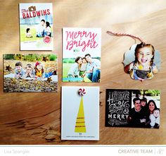 Minted & Studio Calico - embellish your Minted holiday cards with SC kits! Enter to win a $100 GC to Minted!