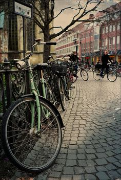 bicycles and fence by macfred64, via Flickr