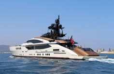 The largest Palmer Johnson ever built, Lady M - Superyacht Palmer Johnson Yachts, Carver Boats, Sport Yacht, Deck Boat, Yacht Broker, Below Deck, Lady M, Super Yachts, Open Water