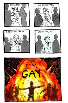 I have someone in my school who is vary gay and makes it known, in conclusion th. - I have someone in my school who is vary gay and makes it known, in conclusion this is him.-I ate a - Lgbt Memes, Funny Memes, Funny Quotes, Funny Art, Comic Manga, Lgbt Community, Funny Comics, Gay Comics, Gay Pride