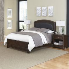 Crescent Hill Panel 3 Piece Bedroom Set Size: King - http://delanico.com/bedroom-sets/crescent-hill-panel-3-piece-bedroom-set-size-king-590108845/