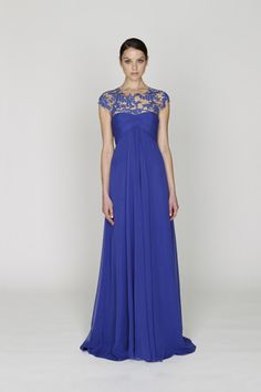 Oh Monique L'Huillier, you know how to make a girl swoon. Bridesmaid dress inspiration.