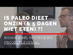 Kris Verburgh over paleo dieet, periodiek vasten en langer leven - YouTube