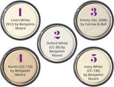 Super exterior paint colors for house cream bedrooms ideas Off White Paint Colors, Cream Paint Colors, Off White Paints, Paint Colours, Cream Wall Paint, Ceiling Paint Colors, Cream Walls, Interior Paint Colors For Living Room, Paint Colors