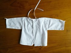 Cotton Baby Smock Handmade Lace French by FromParisToProvence, €12.00