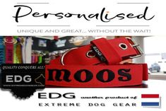Collars | Leashes | Harnesses | Supplements | Extreme Dog Gear Dog Harness, Dog Leash, Collar And Leash, Holland, Gears, Dogs, Sports, Handmade, Dutch Netherlands
