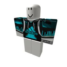 Customize your avatar with the LIGHTNING ADIDAS JACKET OFF and millions of other items. Mix & match this shirt with other items to create an avatar that is unique to you! Roblox Guy, Roblox Shirt, Play Roblox, Adidas Shirt, Adidas Jacket, Bikini Shirt, Roblox Download, Camisa Nike, Free Avatars