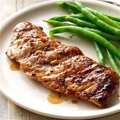 ***PR*** Caramelized Pork Tenderloin Recipe- Recipes They're a little bit savory and a little bit sweet, and best of all, they taste grilled even though you made it on the stovetop. Easy Pork Loin Recipes, Best Pork Tenderloin Recipe, Cooking Pork Tenderloin, Beef Recipes, Cooking Recipes, Pork Chops, Pork Tenderloins, Pork Roast, Pork Steaks