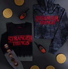 Shop the latest OFFICIAL Stranger Things merchandise including Stranger Things t-shirts, Funko figures & more! Embark on an investigative adventure and step into Hawkins, Indiana and experience Stranger Things. Stranger Things Merchandise, Stranger Things Hoodie, Stranger Things Quote, Stranger Things Aesthetic, Stranger Things Season, Stranger Things Netflix, Stranger Things Clothing, Hot Topic Stranger Things, Stranger Things Upside Down