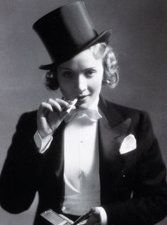 Marlene Dietrich - Sassy hollywood star