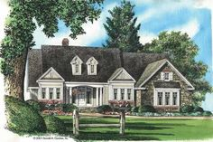 Ranch Exterior - Front Elevation Plan #929-617 - Houseplans.com