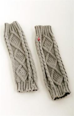 I wonder if little girls could wear these as leg warmers? So cute!