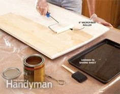 How to Get a Smooth Polyurethane Finish | The Family Handyman