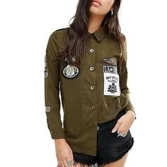 Badges patch long shirt.  DM TO ORDER.  #fashion#fashionista#fashionblogger#fashionblog#fashionable#fashionstyle #me #outfit#outfitoftheday#outfits#outfitpost#outfitinspiration #look#lookbook#lookoftheday#todayiwore#whatiwore#lovethislook #love#fallinginlovewith #likeit #instalike #fashionweekparis#nyfw #fashionweekberlin #pfw #mfw #lfm #hautecouture #fashionshow