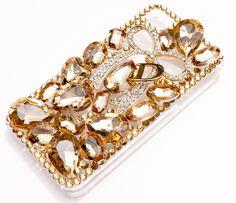 smartphone-case of DDPOP [Gold-ribbon]