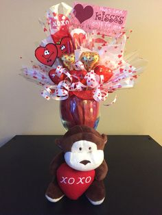 A Valentine's Candy Bouquet for that special someone in your life!